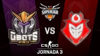 GBOTS VS G2VODAFONE - MAPA 1 - SUPERLIGA ORANGE - #SUPERLIGAORANGECSGO3