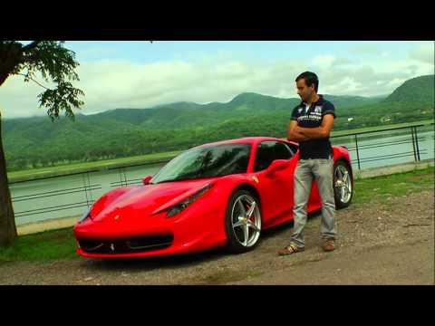 355 kmh a bordo de una Ferrari Italia