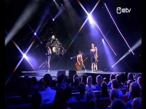 eesti - Live perfomance from Eesti Laul 2013 contest. Multicamera director: Ove Musting Assistants: Indrek Kaljuvee, Reeli Tee Rigging and rotating of the drum set b...