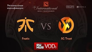 Fnatic vs Signature, game 1
