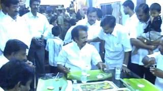 Video M K Stalin in Kasinathan Family Wedding Function MP3, 3GP, MP4, WEBM, AVI, FLV Desember 2018