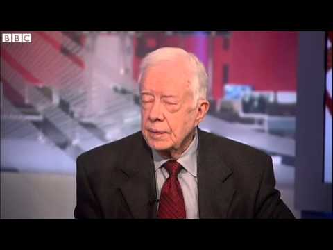 BBC News Jimmy Carter on Mid East peace