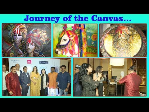 Journey of the Canvas Painting Exhibition in Hyderabad,Vizagvision...