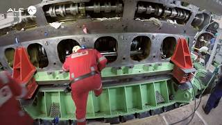 Video Crankshaft exchange on the MS Zaandam cruise ship MP3, 3GP, MP4, WEBM, AVI, FLV Desember 2018