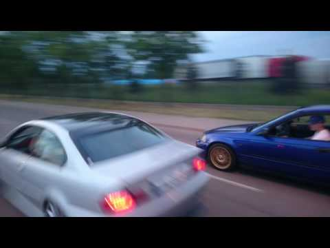 BMW 318Ci E46 1.9 118 HP vs Honda Civic 1.4 16V 90 KM
