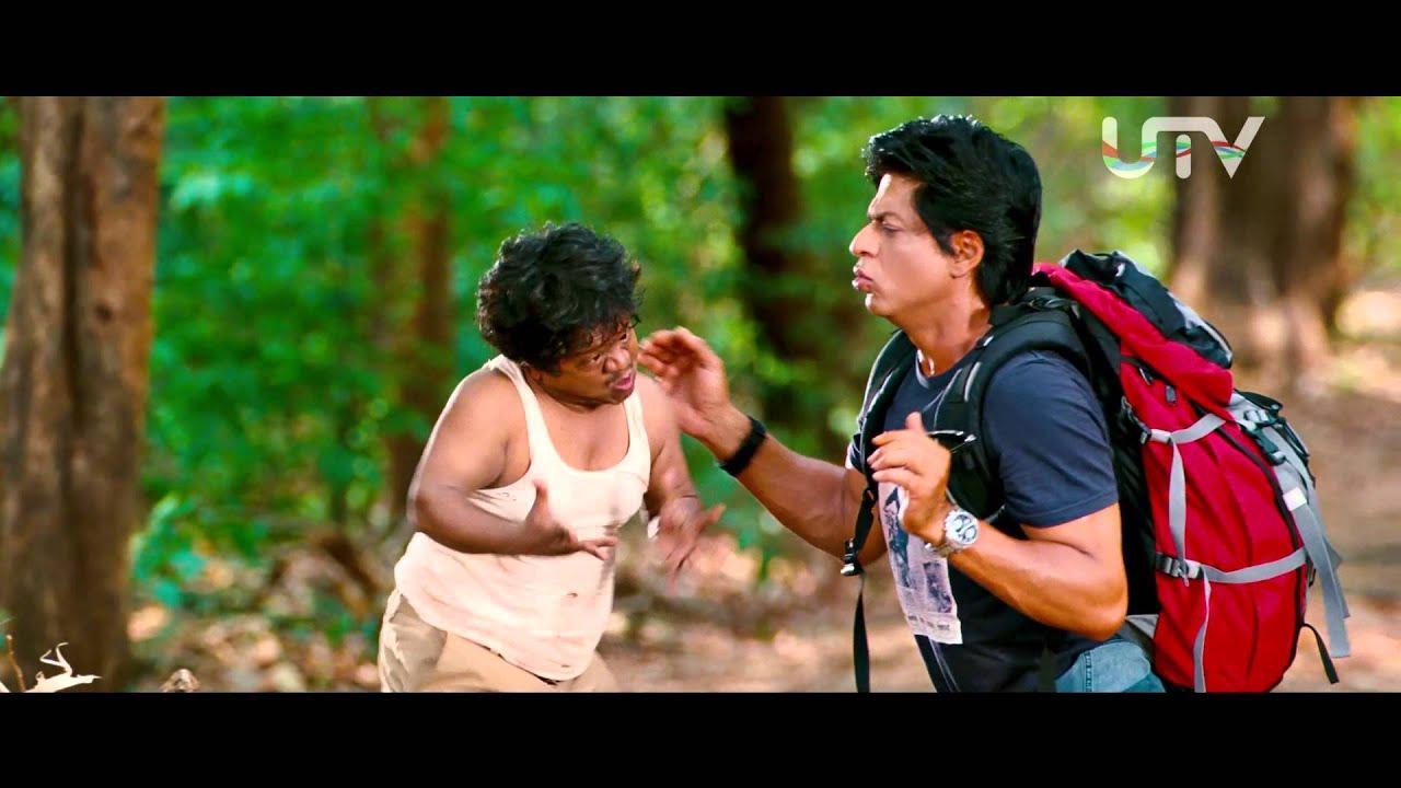 Chennai Express I SRK tries to talk in Tamil I Movie Scene
