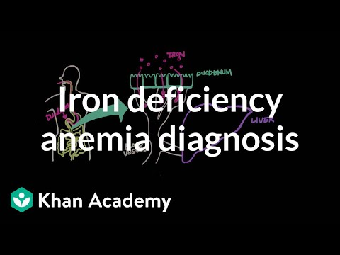 Iron deficency anemia diagnosis video