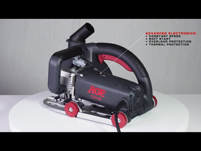AGP CG150 Wall Chaser - Overview