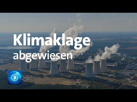 Klimaklage gegen Bundesregierung Abgewiesen