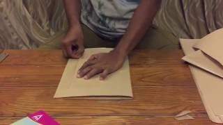 How to brown paper cover your school books
