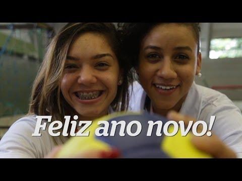 Imagens de feliz ano novo - Gigante nas quadras: campeãs do handebol desejam feliz ano novo
