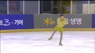 2014 01 04 종합선수권 쇼트 김연아 무해설