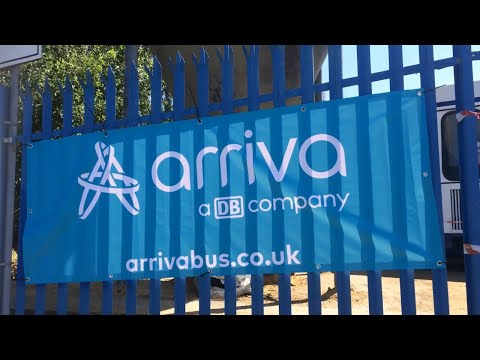 Arriva Bus Depot Open Day Liverpool 03/06/2018