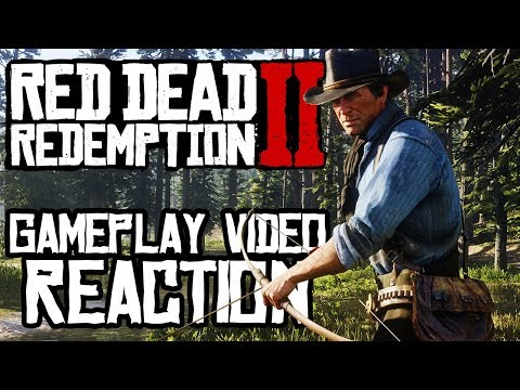 Red Dead Redemption 2: OFFICIAL GAMEPLAY VIDEO REACTION!