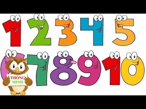 Dạy bé tập đếm số từ 1 đến 10 tiếng anh | em học đếm với hai bàn tay | Dạy Tiếng Anh cho trẻ em - Thời lượng: 3:04.