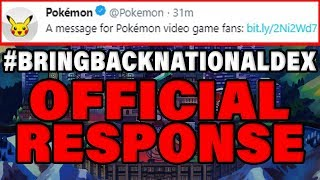 THE POKEMON COMPANY'S UNBELIEVABLE RESPONSE TO NO NATIONAL DEX IN POKEMON SWORD AND SHIELD! by Verlisify