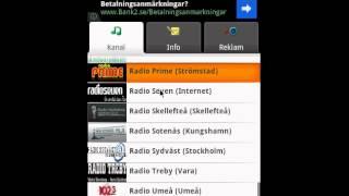 Ångradion (gratisapp) YouTube video