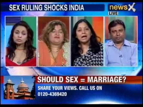 crime - NewsX: In a ruling which might have a far reaching impact, Madras High Court has said if a couple in the right legal age indulge in sexual gratification, it ...