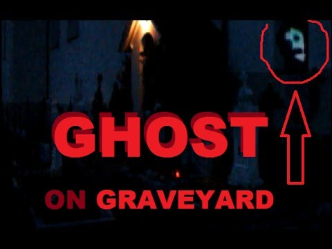 ☆ DEMON Caught On Tape WTF – Spooky Old Graveyard with Alien Space Ghost in Stone UFO