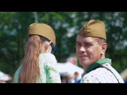 День Победы в Парке Горького и МУЗЕОНЕ