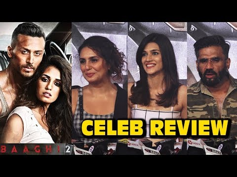 Baaghi 2 Celebrity REVIEW | Jackie Shroff, Kriti S