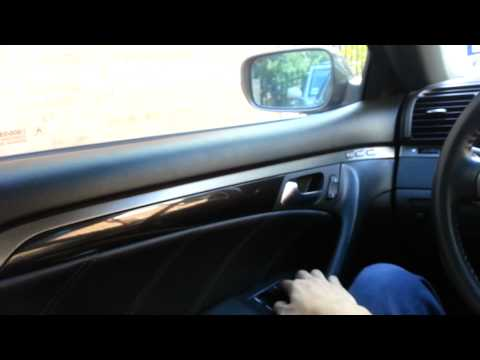 how to remove acura rl door panel