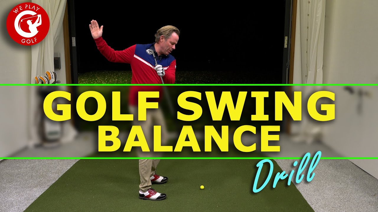 More balance in your GOLF SWING with this golf drill