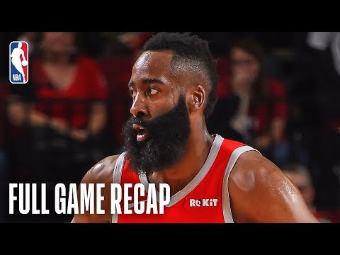 SUNS vs ROCKETS | James Harden Stuffs The Stat Sheet | March 15, 2019