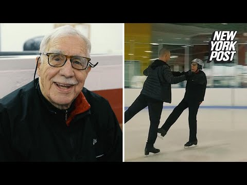 95-year-old federal judge feels young on the ice rink | New York Post
