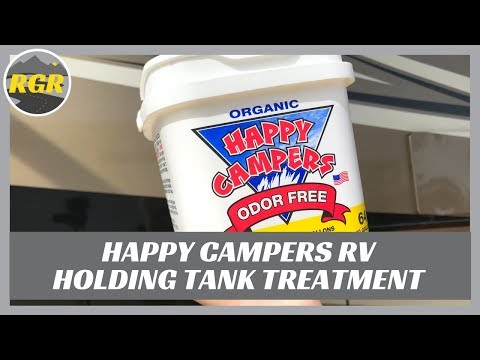 Happy Campers RV Holding Tank Treatment   Product Review   For Black and Grey Tanks