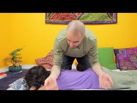 come effettuare un massaggio shiatsu