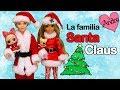 La familia LOL Santa Claus y los nuevos vecinos | Muñecas y juguetes con Andre para niñas y niños