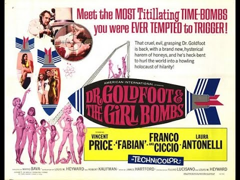 The Fantastic Films Of Vincent Price #64 - Dr. Goldfoot And The Girl Bombs