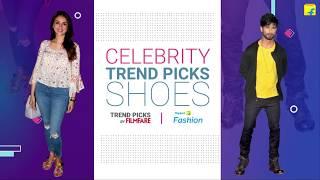 Latest Celebrity Trends - Footwear #OnlyonFlipkart