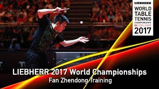 2017 World Championships | Fan Zhendong Training