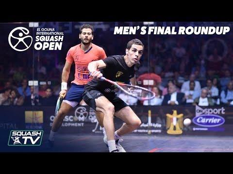 Squash: El Gouna International 2019 - Farag v Gawad - Men's Final Round Up
