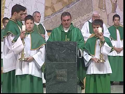 2017-09-24 Vasárnapi szentmise a Gazdagréti Szent Angyalok Plébánián