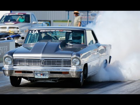 drag - This episode of HOT ROD Unlimited screams with action from 200-mph street cars at one of the most grueling events in all of motorsports: HOT ROD Drag Week, p...