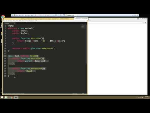 Learn about Advanced OOP in PHP - Part 3