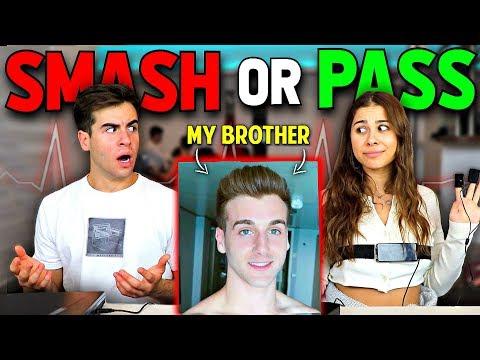 Smash Or Pass Lie Detector Test On My Girlfriend.. (Bad Idea)