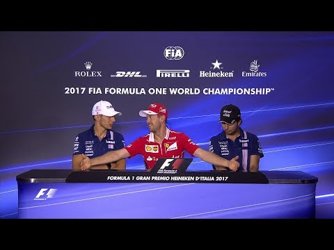 2017 Italian Grand Prix | Pre-Race Press Conference