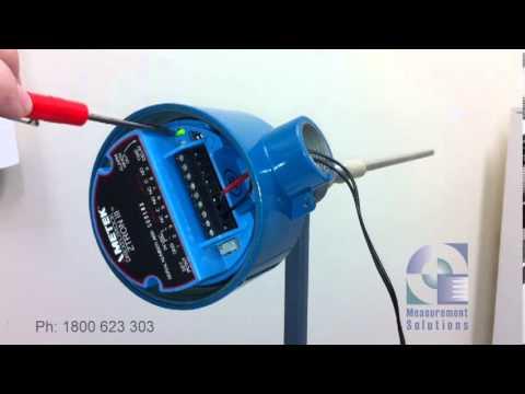 Drexelbrook Z-Tron III granular calibration