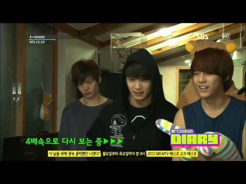 HD (ENG)121225 BTOB B+ Diary Ep 4 Part(3/4) (видео)