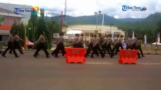 Video Calon Polisi Jalan Kaki Sambil Nyanyi MP3, 3GP, MP4, WEBM, AVI, FLV Desember 2017
