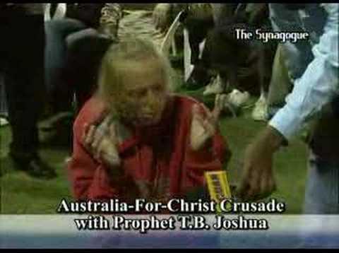TB Joshua in Australia