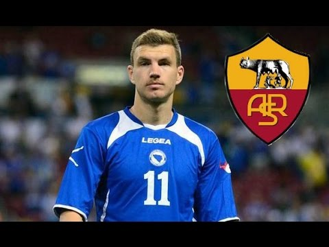 edin dzeko alla roma - welcome to roma dzeko (video gol)