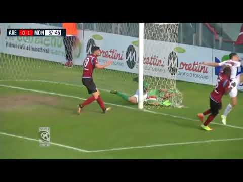 Arezzo-Monza 0-1, la sintesi della partita