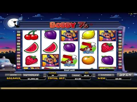 FREE Bobby 7s ™ slot machine game preview by Slotozilla.com