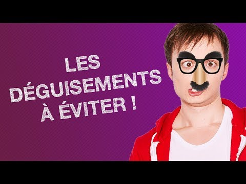 TOP #5 DES DÉGUISEMENTS À ÉVITER