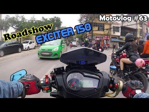 Hàng trăm xe Exciter 150 diễu hành Hà Nội trong ngày đầu Offline NAVU TEAM | Motovlog 63 - Thời lượng: 10 phút.